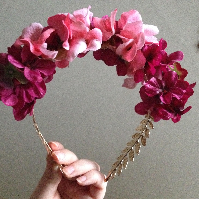Una corona de flores para paula a flower crown for paula - Www como hacer flores com ...